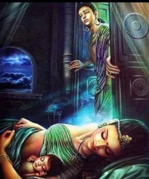 புத்தரும் அவரின் மனைவி யசோதராவும்