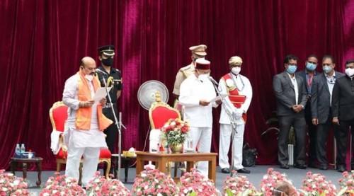 கர்நாடக மாநிலத்தின் புதிய முதல்வரானார் பசவராஜ் பொம்மை