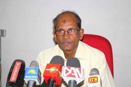 கொரோனா தொற்று பாதிப்பால் TNA உறுப்பினர் துரைராஜசிங்கம் காலமானார்